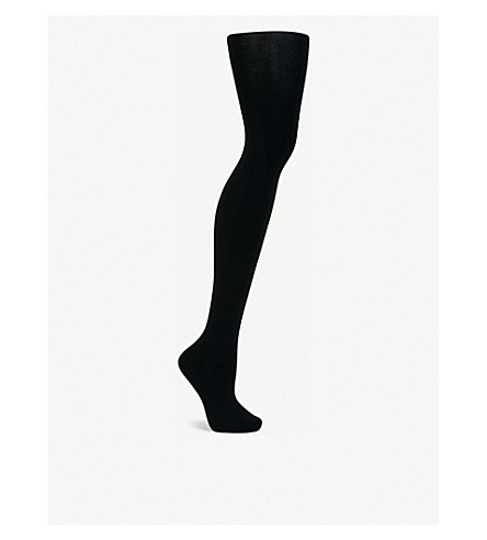 FALKE Silk no.2 tights (3009+black