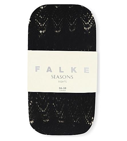 FALKE Allover ajour tights (3009 black