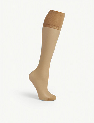 FALKE Pure Matt 20 denier knee-high pop socks