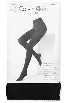 CALVIN KLEIN Ultra Fit ribbed tights