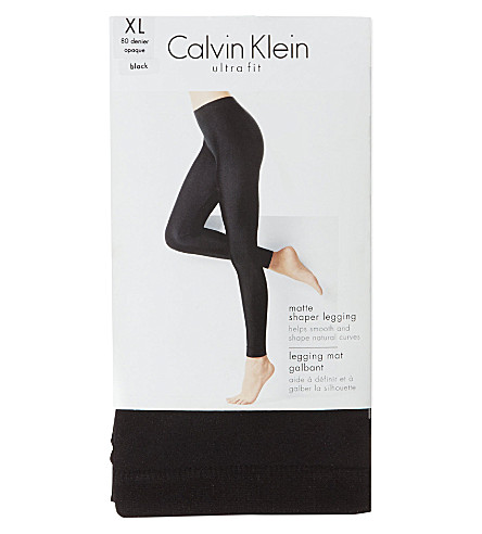 CALVIN KLEIN Ultra-fit leggings (Black