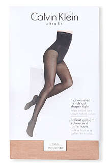 CALVIN KLEIN Ultra fit high-waisted French-cut tights