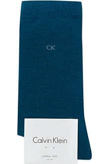 CALVIN KLEIN Luxury cotton socks