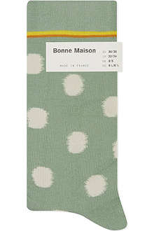 BONNE MAISON Polka dot ankle socks