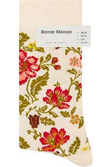 BONNE MAISON Floral ankle socks
