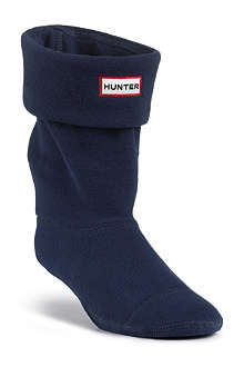 HUNTER Fleece short welly socks