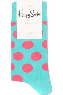 HAPPY SOCKS Polka-dot print socks