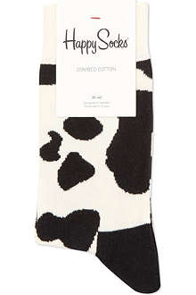 HAPPY SOCKS Cow print socks