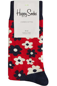 HAPPY SOCKS Flower print socks