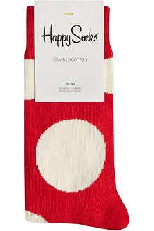 HAPPY SOCKS Jumbo dots socks