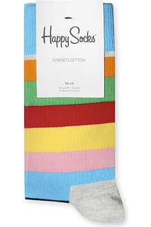HAPPY SOCKS Thick striped socks