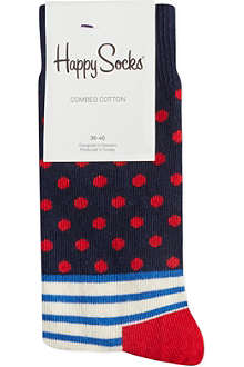 HAPPY SOCKS Stripes & Dots socks