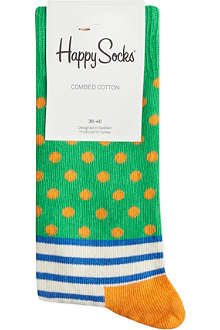 HAPPY SOCKS Stripes & spots socks