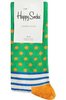 HAPPY SOCKS Stripes & spots socks