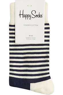 HAPPY SOCKS Half-stripe socks