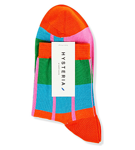 HYSTERIA Simone ankle socks (Multi