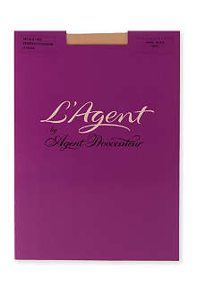 L'AGENT BY AGENT PROVOCATEUR Seam and Heel 20 denier stockings