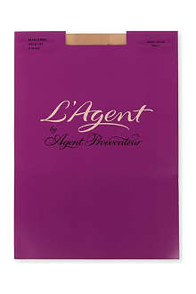 L'AGENT BY AGENT PROVOCATEUR Seam and Heel 20 denier hold-ups