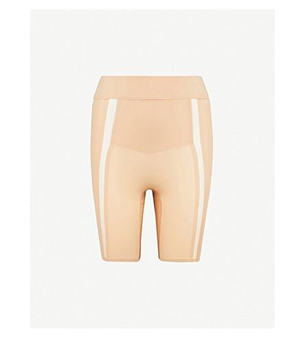 CALVIN KLEIN Mesh-panel stretch-jersey shorts (Bare