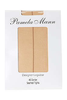 PAMELA MANN Seamed tights 40 denier