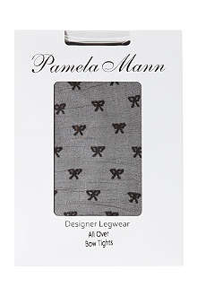 PAMELA MANN All over bow tights