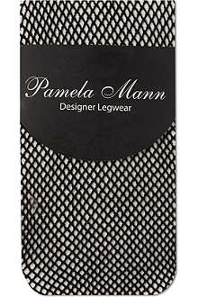 PAMELA MANN Fishnet ankle socks