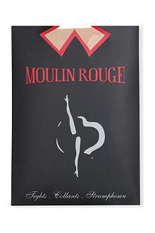 PAMELA MANN Moulin Rouge high heels seamed tights