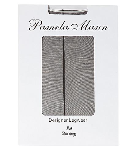 PAMELA MANN Jive stockings (Black