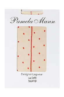 PAMELA MANN Jive dotty stockings