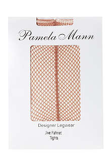 PAMELA MANN Jive fishnet tights
