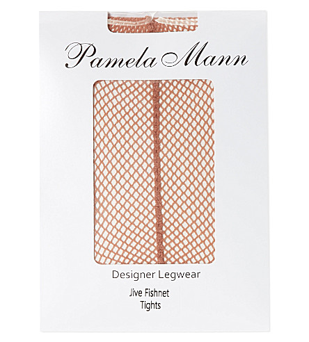 PAMELA MANN Jive fishnet tights (Nude/nude