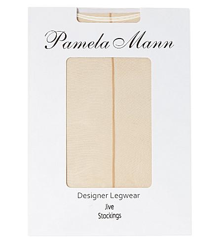 PAMELA MANN Jive stockings (Nude