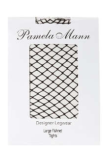 PAMELA MANN Fishnet tights