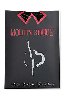 PAMELA MANN Moulin Rouge gold seamed tights
