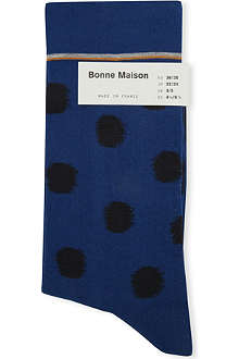 BONNE MAISON Polka-dot ankle socks
