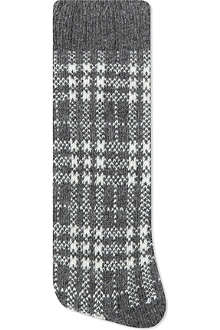 ALTO MILANO Short dogtooth socks