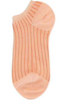ALTO MILANO Ribbed trainer socks