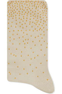 ALTO MILANO Short studded socks