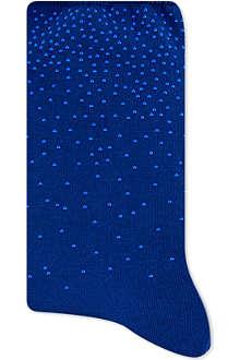 ALTO MILANO Short studded socks