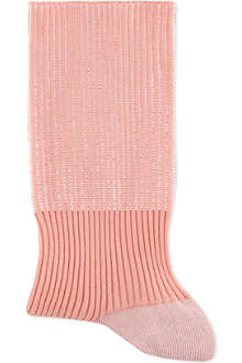ALTO MILANO Short ribbed socks