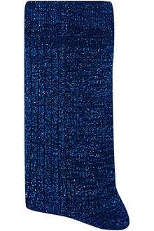ALTO MILANO Short glittery socks