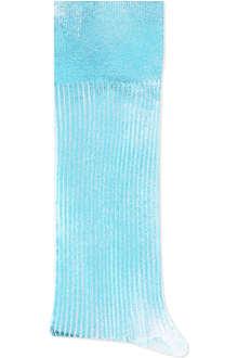 ALTO MILANO Metallic socks