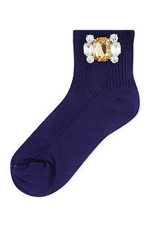 ALTO MILANO Short crystal socks