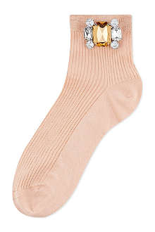 ALTO MILANO Short crystal socks