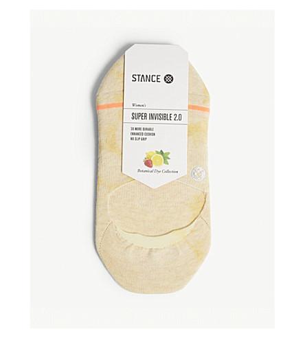 立场植物染料超级隐形2.0袜子 (黄色