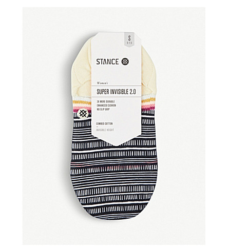 STANCE Super Invisible 2.0 Tiki Talk combed cotton socks (Yellow