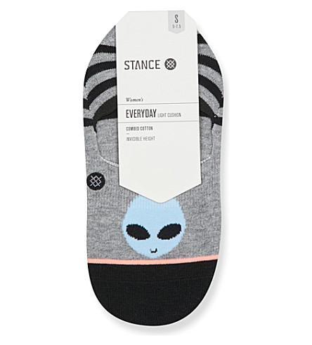 STANCE Ecliptic Super Invisible cotton socks (Grey