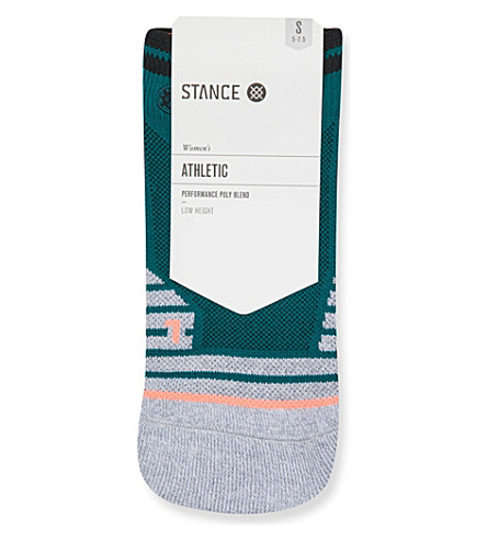 STANCE Precision Low Training cotton socks (Teal