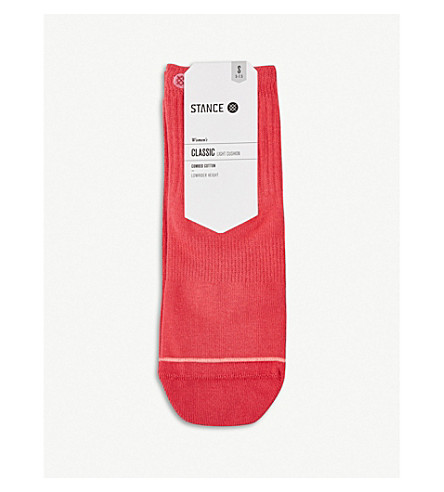 STANCE Classic Lowrider Uncommon combed cotton socks (Red