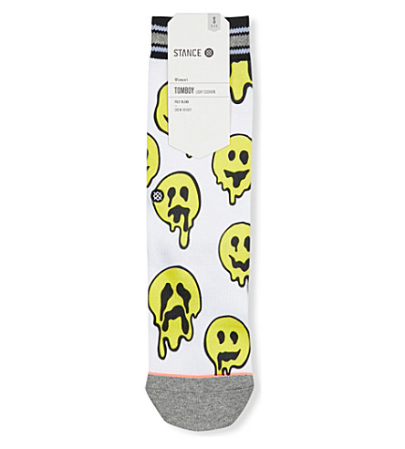 STANCE Outbreak Tommy Light cotton socks (White